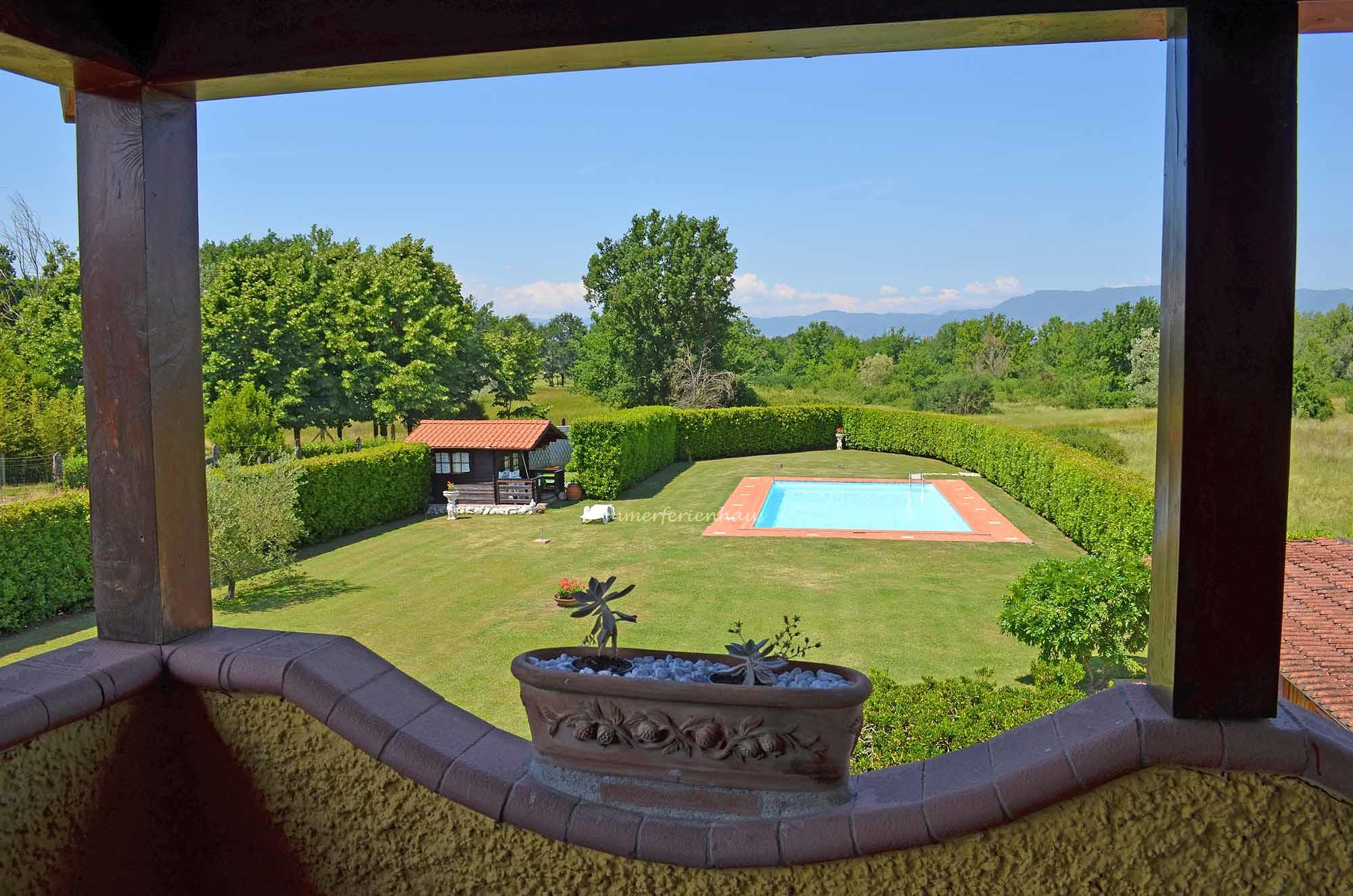 ... In The Middle Of The Landscaped Garden The Private Pool Of The Holiday  Home Is Located ...